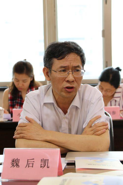 中国社会科学院农村发展研究所所长、研究员 魏后凯